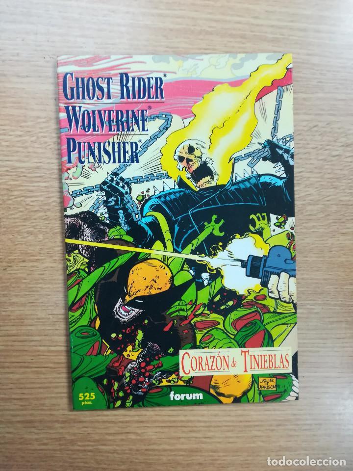 GHOST RIDER WOLVERINE PUNSHER CORAZON DE TINIEBLAS (Tebeos y Comics - Forum - Prestiges y Tomos)