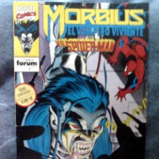 Cómics: MARVEL COMICS FORUM MORBIUS VS SPIDERMAN COMIC EL VAMPIRO VIVIENTE. Lote 121243387