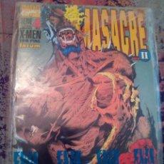 Cómics: X MEN MASACRE 4 DE 4. Lote 121271891