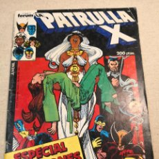 Cómics: PATRULLA X ESPECIAL VACACIONES. Lote 121408655