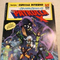 Cómics: PATRULLA X ESPECIAL INVIERNO. Lote 121408751
