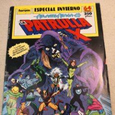 Cómics: PATRULLA X ESPECIAL INVIERNO. Lote 121408767