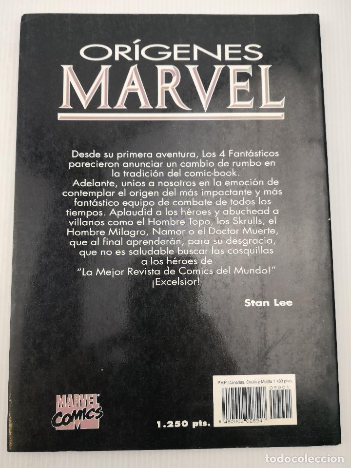 Cómics: Orígenes Marvel The Fantastic Four nº 1-5 - Foto 2 - 121409679