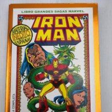 Cómics: LIBROS GRANDES SAGAS MARVEL IRON MAN LA SEMILLA DEL DRAGÓN. Lote 121410459