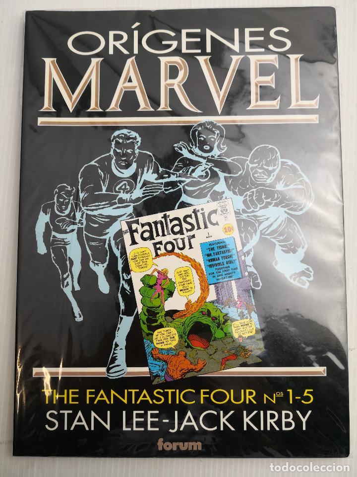 ORÍGENES MARVEL THE FANTASTIC FOUR Nº 1-5 (Tebeos y Comics - Forum - Prestiges y Tomos)