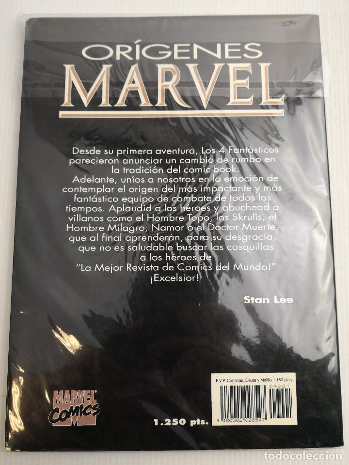Cómics: Orígenes Marvel The Fantastic Four nº 1-5 - Foto 2 - 121411223