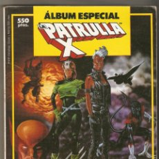 Cómics: ALBUM ESPECIAL LA PATRULLA X CON 3 NUMEROS EXTRA RETAPADO FORUM. Lote 121426399