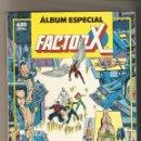 Cómics: ALBUM ESPECIAL FACTOR X CON 3 NUMEROS EXTRA RETAPADO FORUM - MUY BUEN ESTADO . Lote 121427423