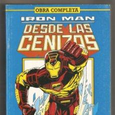 Cómics: IRON MAN DESDE LAS CENIZAS - OBRA COMPLETA - 8 NÚMEROS - RETAPADO FORUM MUY BUEN ESTADO. Lote 121427903