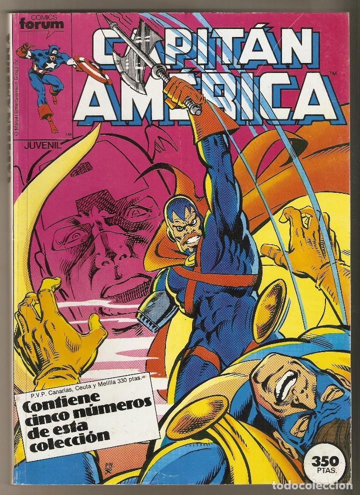 CAPITAN AMERICA - 5 NÚMEROS 41 AL 45 - RETAPADO FORUM - MUY BUEN ESTADO (Tebeos y Comics - Forum - Retapados)