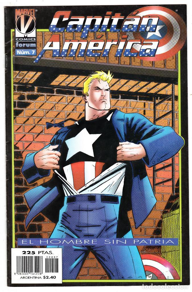CAPITAN AMERICA EL HOMBRE SIN PATRIA, Nº 7 VOLUMEN III 1996 (Tebeos y Comics - Forum - Capitán América)