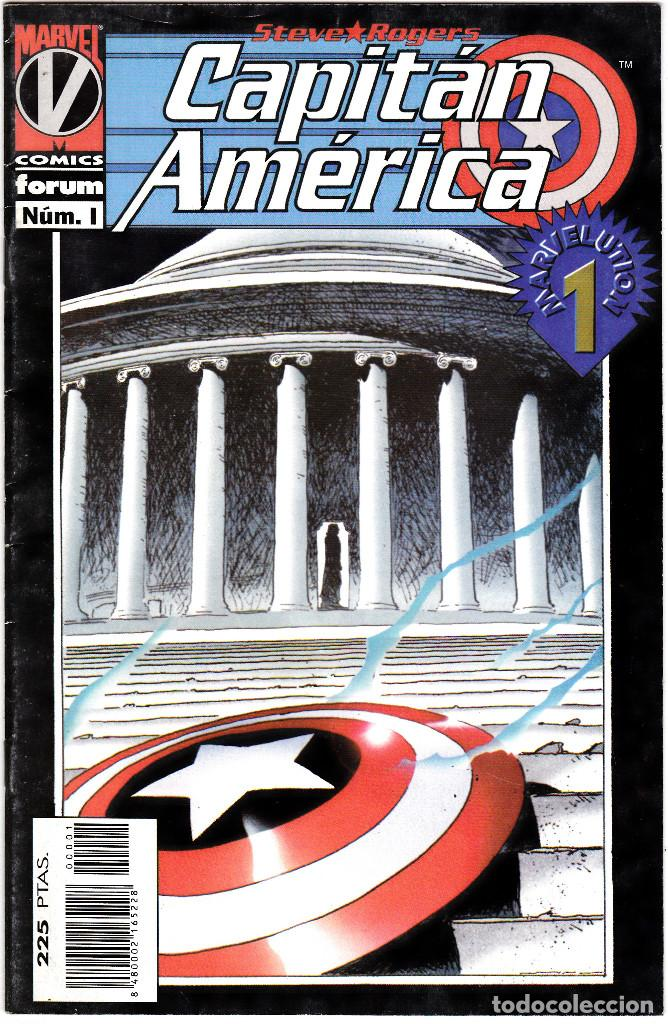 CAPITAN AMERICA EL HOMBRE SIN PATRIA, Nº 1 VOLUMEN III 1996 (Tebeos y Comics - Forum - Capitán América)
