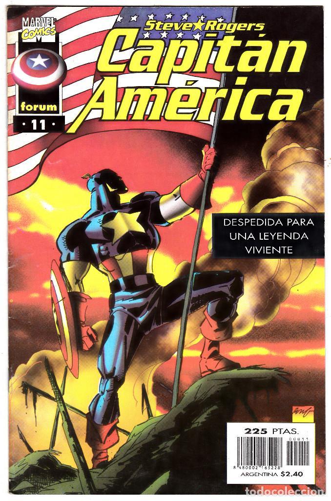 CAPITAN AMERICA EL HOMBRE SIN PATRIA, Nº 11 VOLUMEN III 1996 (Tebeos y Comics - Forum - Capitán América)