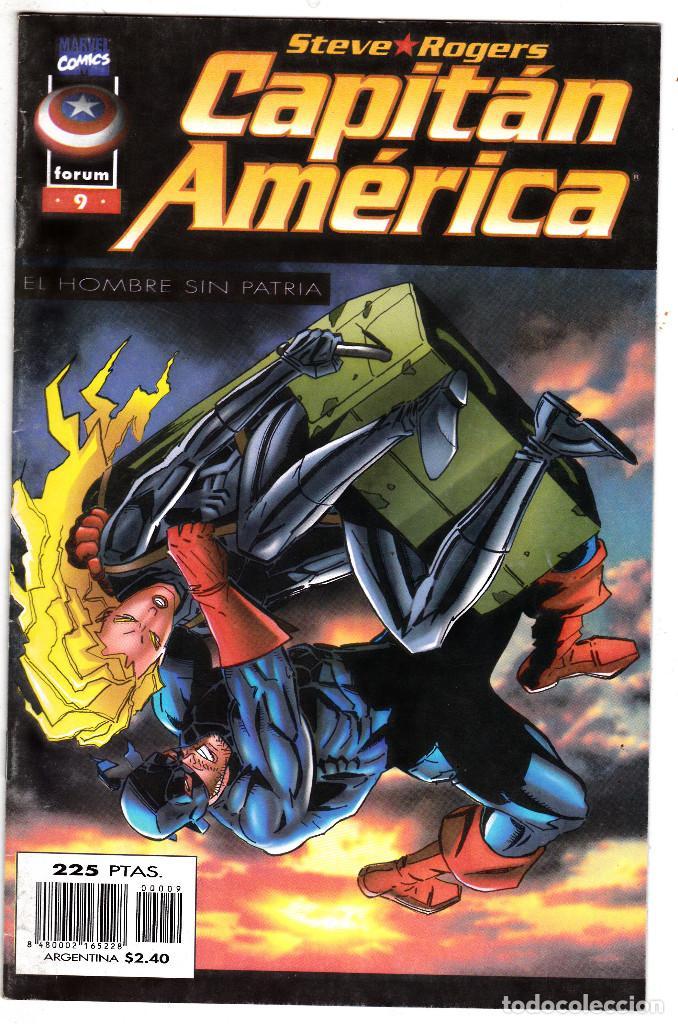 CAPITAN AMERICA EL HOMBRE SIN PATRIA, Nº 9 VOLUMEN III 1996 (Tebeos y Comics - Forum - Capitán América)