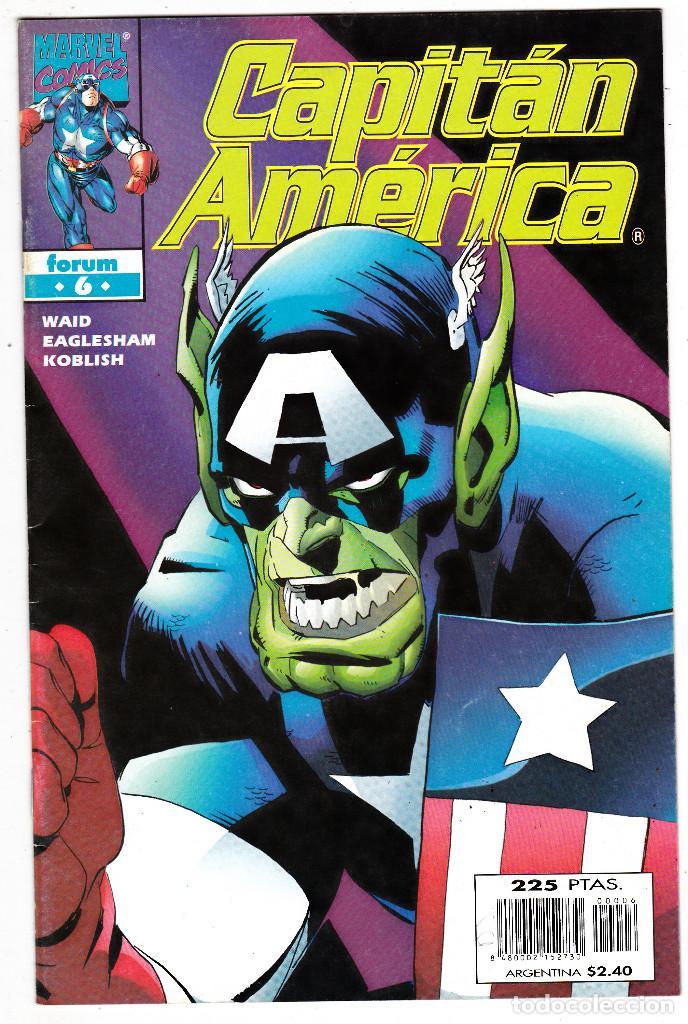 CAPITAN AMERICA EL HOMBRE SIN PATRIA, Nº 6 VOLUMEN 4 1999 (Tebeos y Comics - Forum - Capitán América)