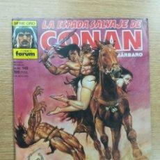Cómics: ESPADA SALVAJE DE CONAN #143. Lote 121556651