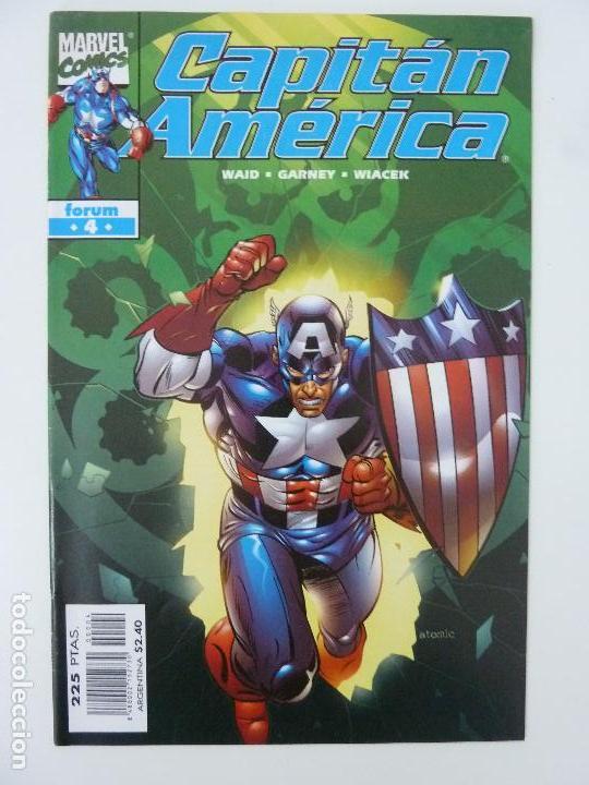 CAPITÁN AMÉRICA. Nº 4 (Tebeos y Comics - Forum - Capitán América)