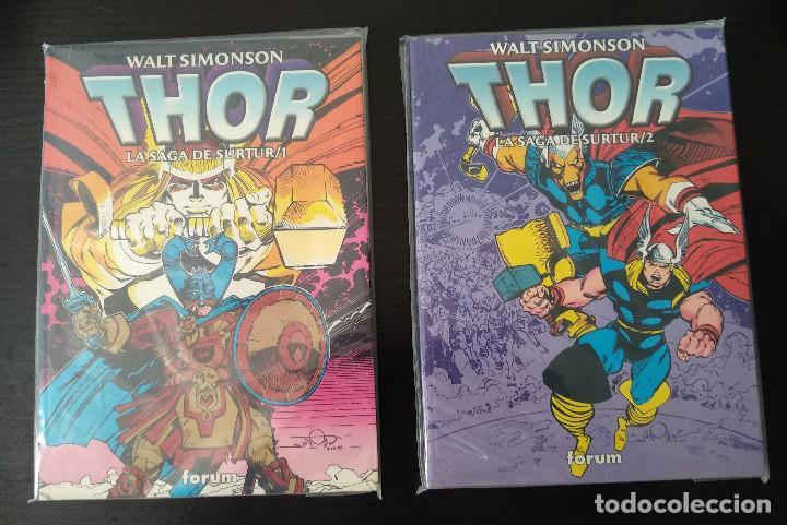 LA SAGA DE SURTUR TOMOS 1 Y 2 COMPLETA (Tebeos y Comics - Forum - Thor)