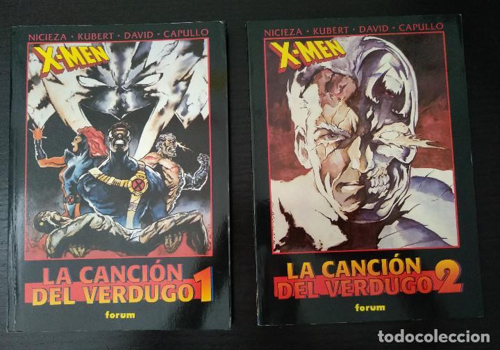 X-MEN LA CANCION DEL VERDUGO TOMOS 1 Y 2 COMPLETA (Tebeos y Comics - Forum - Prestiges y Tomos)