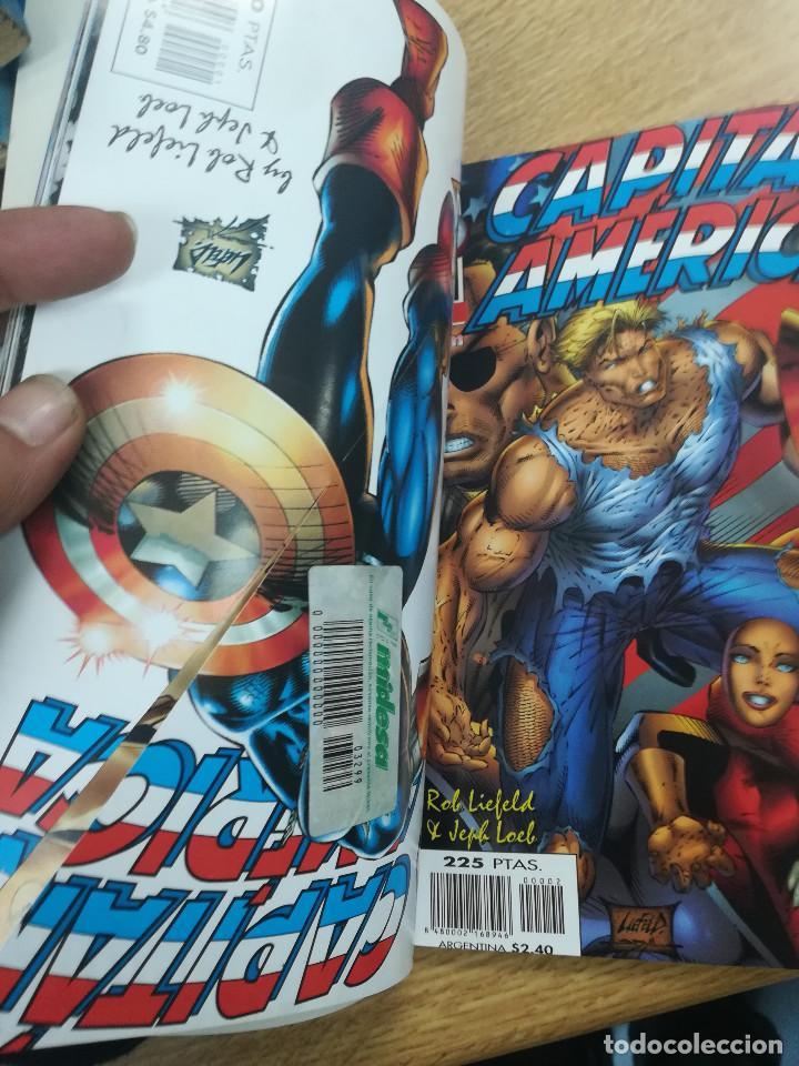 Cómics: CAPITAN AMERICA HEROES REBORN RETAPADO #1 (NUMEROS 1 A 6) - Foto 2 - 121603855