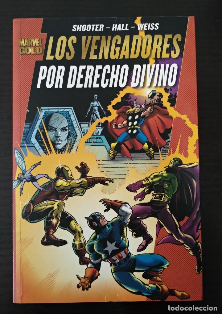 LOS VENGADORES - POR DERECHO DIVINO (Tebeos y Comics - Forum - Prestiges y Tomos)