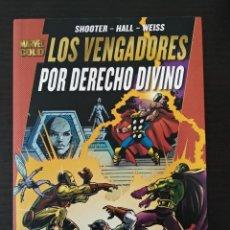 Cómics: LOS VENGADORES - POR DERECHO DIVINO. Lote 121604755