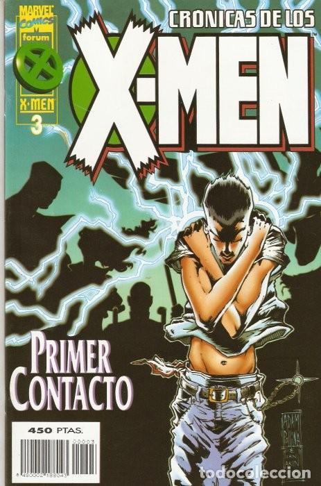 CRÓNICAS DE LOS X-MEN (1995-1996) #3 (Tebeos y Comics - Forum - X-Men)