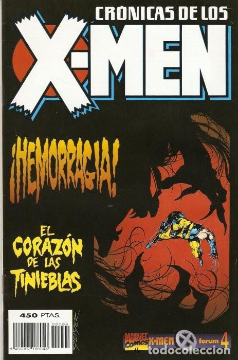 CRÓNICAS DE LOS X-MEN (1995-1996) #4 (Tebeos y Comics - Forum - X-Men)