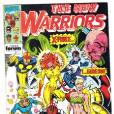 Cómics: THE NEW WARRIORS Nº 19 MARVEL COMICS FORUM 1992 EDITORIAL PLANETA DE AGOSTINI. Lote 121662575