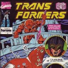 Cómics: TRANSFORMERS #60. Lote 121666471