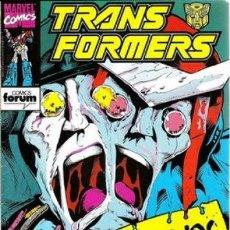 Cómics: TRANSFORMERS #63. Lote 121666543