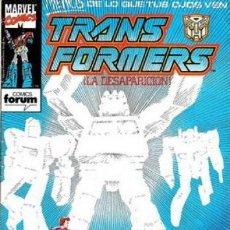 Cómics: TRANSFORMERS #64. Lote 121666587