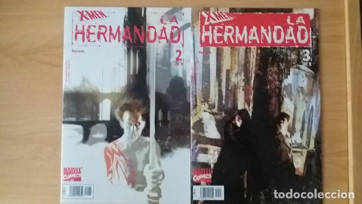 Cómics: X-Men La Hermandad. Forum. 2002. Completa y en perfecto estado. - Foto 2 - 121699871