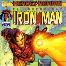 Cómics: IRON MAN VOL. 5 (HEROES RETURN) (COLECCIÓN COMPLETA). Lote 121706019