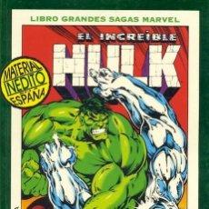 Cómics: LIBRO GRANDES SAGAS MARVEL: EL INCREÍBLE HULK : FANTASMAS DEL PASADO. TOMO FORUM.. Lote 121706831