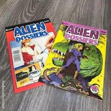 Cómics: LOTE ALIEN DOSSIERS - FORUM - 1991 (2 COMICS). Lote 121753039