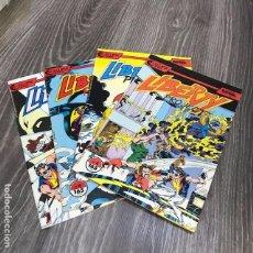 Cómics: LOTE LIBERTY PROJECT - FORUM - 1990 (4 COMICS). Lote 121754071