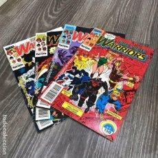 Cómics: LOTE THE NEW WARRIORS - FORUM - 1991 (4 COMICS). Lote 121755707