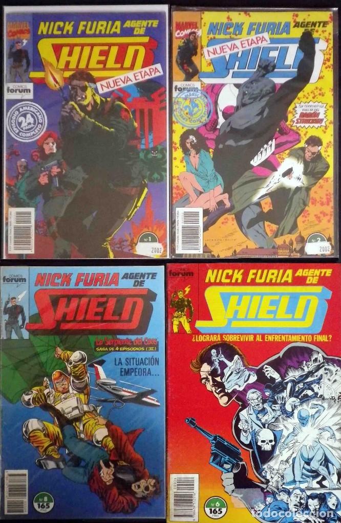 NICK FURIA. AGENTE DE SHIELD - Nº 1 - 2 - 6 Y 8 CON FUNDA PROTECTORA. TAMBIÉN SUELTOS (Tebeos y Comics - Forum - Furia)