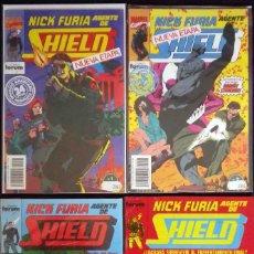 Cómics: NICK FURIA. AGENTE DE SHIELD - Nº 1 - 2 - 6 Y 8 CON FUNDA PROTECTORA. TAMBIÉN SUELTOS. Lote 120691539