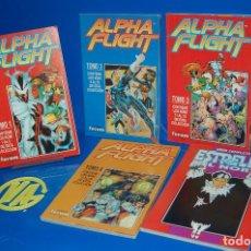 Cómics: LOTE COMICS MARVEL ALPHA FLIGHT-Nº 1 AL 20 COLECCION COMPLETA + ESTRELLA DEL NORTE. Lote 121824943