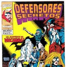 Cómics: LOS DEFENSORES SECRETOS. N 3 DE 12. LA CANCION DEL ENJAMBRE.. Lote 121825447