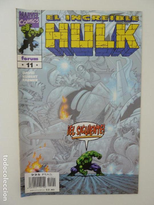 EL INCREIBLE HULK. Nº 11 (Tebeos y Comics - Forum - Hulk)