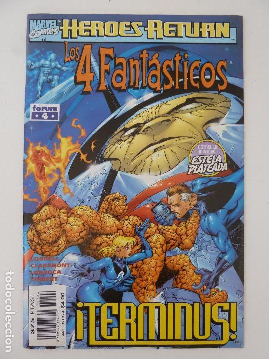 LOS 4 FANTÁSTICOS. TERMINUS. FORUM. Nº 4 (Tebeos y Comics - Forum - 4 Fantásticos)