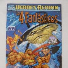 Fumetti: LOS 4 FANTÁSTICOS. TERMINUS. FORUM. Nº 4. Lote 121850987