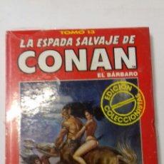 Comics : LA ESPADA SALVAJE DE CONAN TOMO ROJO 13 EDICIÓN COLECCIONISTAS DE FORUM. Lote 178043452