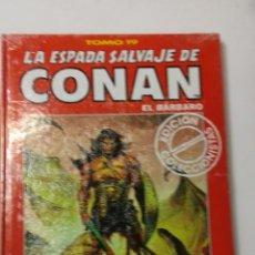 Cómics: LA ESPADA SALVAJE DE CONAN TOMO ROJO 19 EDICIÓN COLECCIONISTAS DE FORUM. Lote 178041364