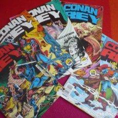 Cómics: CONAN REY NºS 51, 52, 53, 54 Y 55 PROVIENEN DE RETAPADO ( KRAAR DOCHERTY ) FORUM MARVEL . Lote 121883911