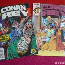 Cómics: CONAN REY NºS 56 Y 57 ( KRAAR DEZUÑIGA ) ¡BUEN ESTADO! FORUM MARVEL . Lote 121884071
