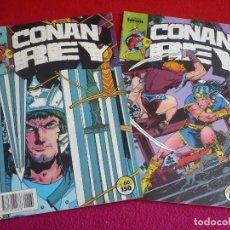 Cómics: CONAN REY NºS 60 Y 61 ( JAMES OWSLEY ISHERWOOD ) ¡BUEN ESTADO! FORUM MARVEL . Lote 121884387